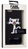 Задняя накладка Lagerfeld Monster Choupette для Apple iPhone 6/6S Plus (KLHCP6LMC2BK)