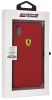 Задняя накладка Ferrari On-Track SF Silicon Case для Apple iPhone X (FESSIHCPX)