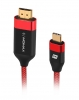 Кабель Type-C to HDMI Momax ELITE TYPE-C TO HDMI (4K) 2m (DTH1)