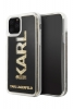 Задняя накладка Lagerfeld GLITTER KARL LOGO для Apple iPhone 11 Pro (5.8